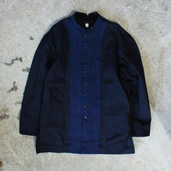 HiHiHi(ひひひ) 長上着 ロングシャツジャケット(INDIGO)【送料無料!】