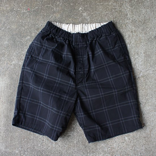 ordinary fits(オーディナリーフィッツ) travel shorts (blk chk)【送料無料!】