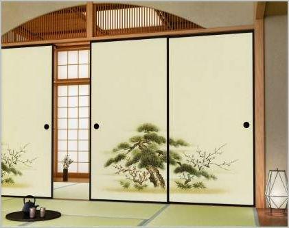 514 2 - Porta scorrevole giapponese ...