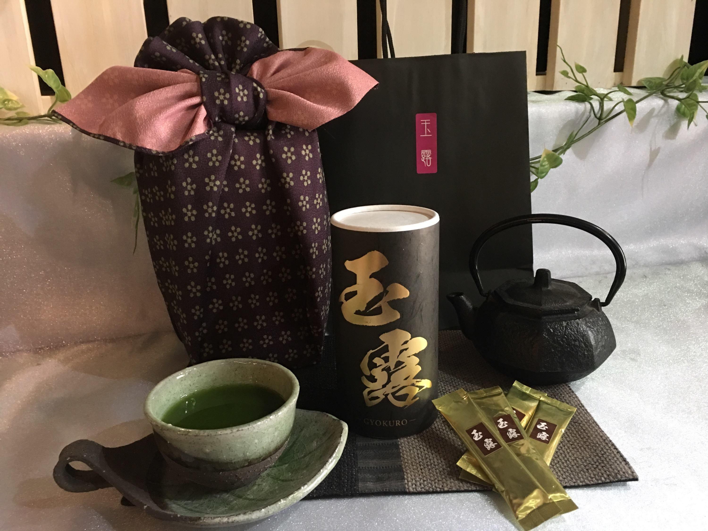 最高級手摘み本玉露・宇八『絢爛』けん...