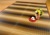【掛川織い草ラグ】東山(ひがしやま) [ブラウン] 税込 16,800円〜21,000円