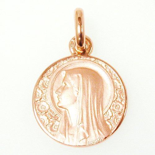 バラの聖母 ピンクゴールド 15mm