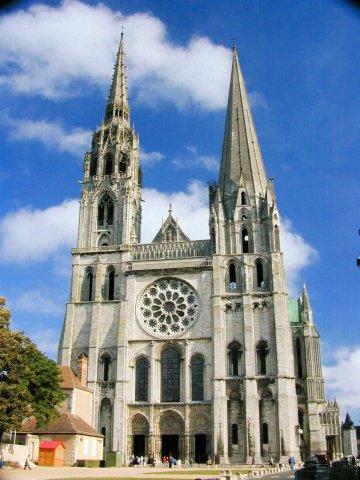シャルトル大聖堂 補足写真3  フランス・シャルトルにあるシャルトル大聖堂(Cath drale