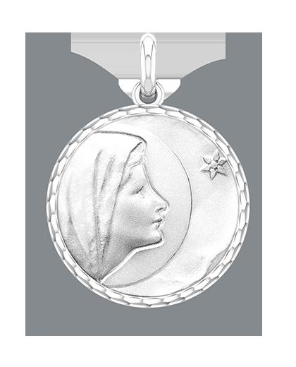 ベトレヘムの聖母 シルバー 17ミリ