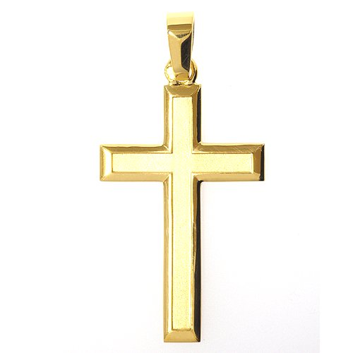 十字架ペンダント(フラット)27mm