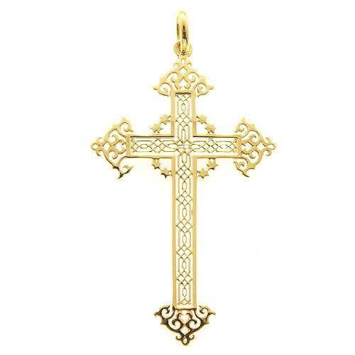 十字架ペンダント(透かし)50ミリ