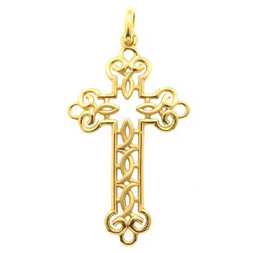 十字架ペンダント(透かし)40ミリ
