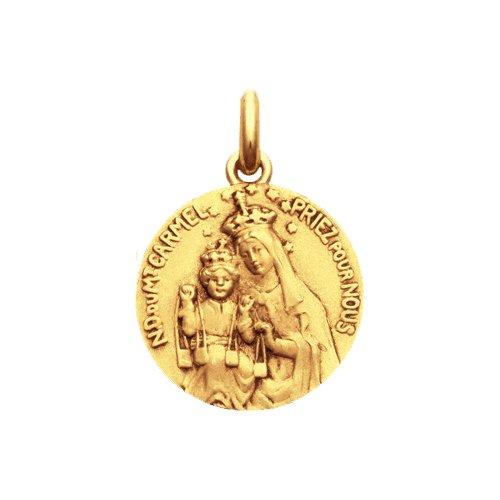 スカプラリオを持つカルメル山の聖母 15ミリ