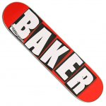 BAKER デッキ TEAM BRAND LOGO WHITE MINI 7.3