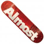 ALMOST デッキ CT LOGO RED 8.0