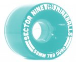 快適!! SECTOR 9 ウィール NINE BALL 58MM 78A LIGHT TEAL