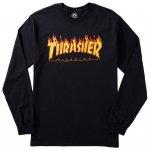 THRASHER ロンT FLAME BLACK