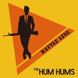 THE HUM HUMS / BATTLE LINE 7inch DLコ...