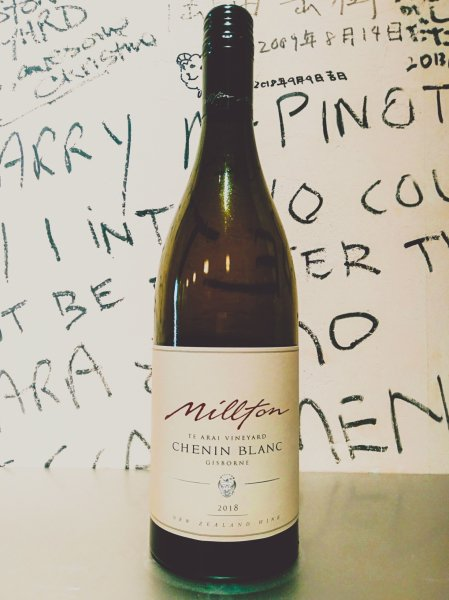 Millton Vineyard Chenin Blanc Te Arai Vineyard 2018