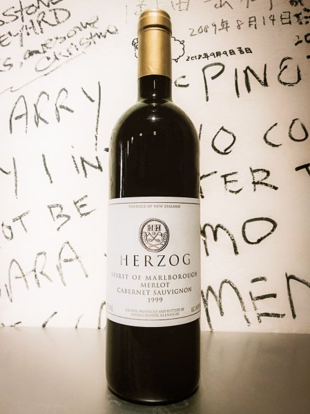 Herzog Spirit of Marlborough Merlot Cabernet Sauvignon 1999