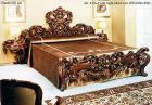 イタリア輸入家具【Fratelli Elli−フラッテリ エリ】ベッド&ナイトテーブル(W305cm)