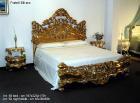 イタリア輸入家具【Fratelli Elli−フラッテリ エリ】ベッド&ナイトテーブル(W197)