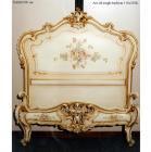 イタリア輸入家具【Fratelli Elli−フラッテリ エリ】シングルベッド(W115×H125cm)
