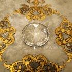 <b>【即納可!】</b>キラキラ♪ 【フランス-Aulica】ダイアモンド型ペーパーウェイト(φ6cm)