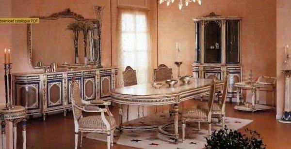 イタリア輸入家具【Asnaghi Interiors】 ダイニングセット