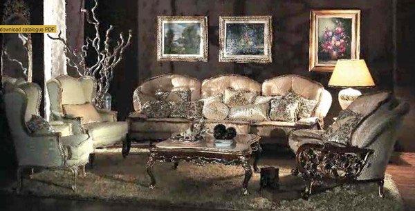 イタリア輸入家具【Asnaghi Interiors】 リビングセット