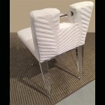 <b>【NYデザイナーズ家具】</b>アクリル家具 アクリルハンドルチェア (W46×H71cm)