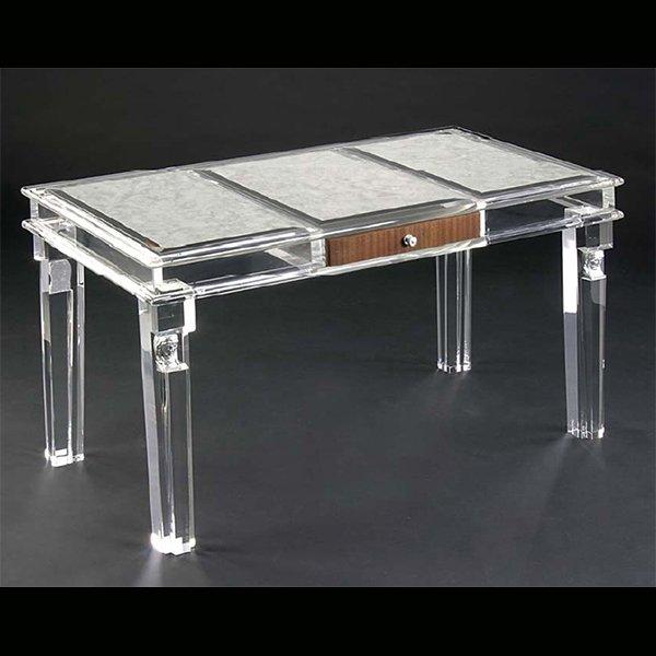 【NYデザイナーズ家具】 アクリル家具 デスク (W122×H76cm)
