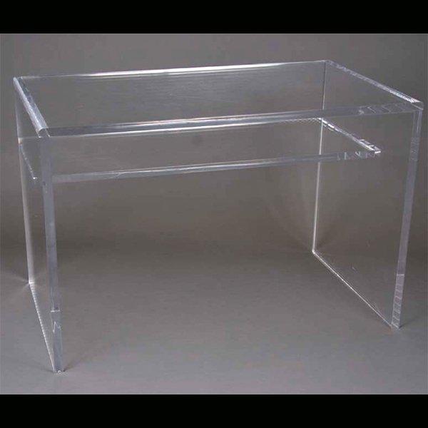 【NYデザイナーズ家具】 アクリル家具 デスク (W102×H74cm)
