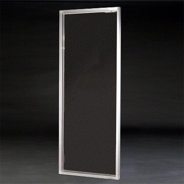 【NYデザイナーズ家具】 アクリル家具 アクリルフレームミラー (W81×H203cm)