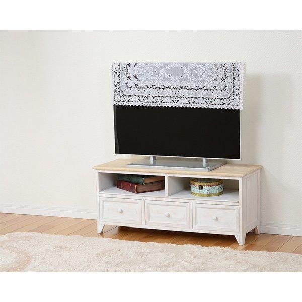 【セール!】【SHABBY WOOD FURNITURE】シャビースタイル♪テレビボード(W94×D34×H40cm)