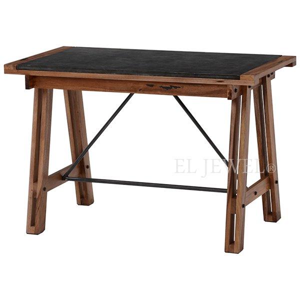 【セール!】【LIBERTA】インダストリアルスタイル家具 テーブル(W110×D58×H72cm)
