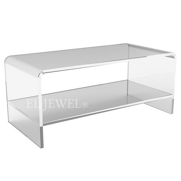【NYデザイナーズ家具】 アクリル家具 センターテーブル(W107×D51×H46cm)Plexi-Craft