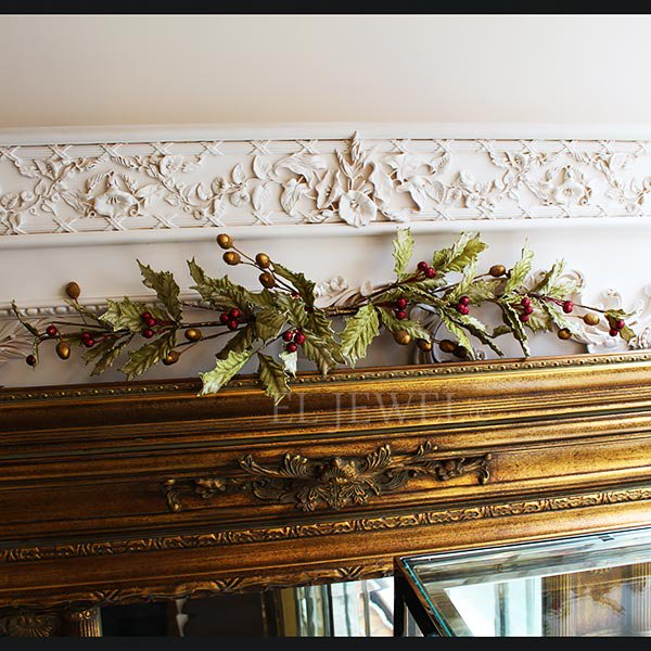 【即納可!】クリスマスアイテム♪Katherine's Collection♪ ホーリーガーランド(W77cm)