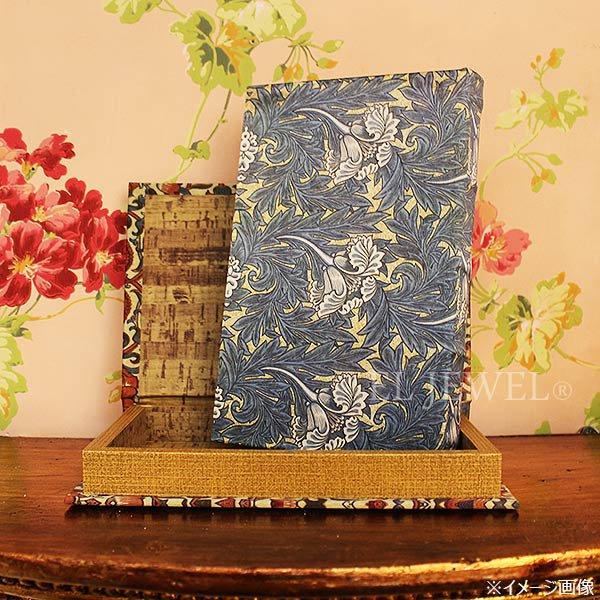 【即納可!】 【COVENT】ブルーリーフシルク・ブック型ボックス 1個入り♪(W14×D21×H3cm)