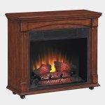 <b>【LLOYD GRANDE】</b>電気式暖炉「ランカスター」(23inch)ヴィンテージチェリー(W768×D292×H693mm)