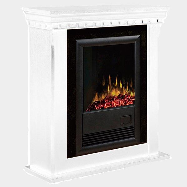 マントルピース付き暖炉