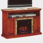 <b>【LLOYD GRANDE】</b>高級木製マントルピース暖炉本体セット「ブライトン」 (23inc)ゴールデンハニー(W1422×D495×H953mm)