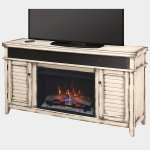 <b>【LLOYD GRANDE】</b>ホームシアター電気暖炉「シモンズ」(26inch) カントリーホワイト(W1511×D393×H787mm)