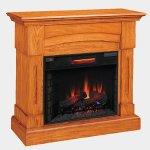 <b>【LLOYD GRANDE】</b>電気式暖炉セット「バークレイ」(28inch) プレミアムオーク(W1195×D403×H1048mm)