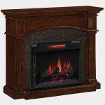 <b>【LLOYD GRANDE】</b>暖炉棚「トレド」(28inch) プレミアムココア(W1270×D482×H1092mm)