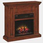 【LLOYD GRANDE】高級木製マントルピース暖炉本体セット「オックスフォード」(23inc)プレミアムピーカンチエリー(W1016×D336×H965mm)
