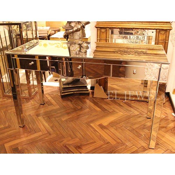 【完売】【ミラー家具】Mirrored Furniture コンソールテーブル(W1500×D600×H900mm)