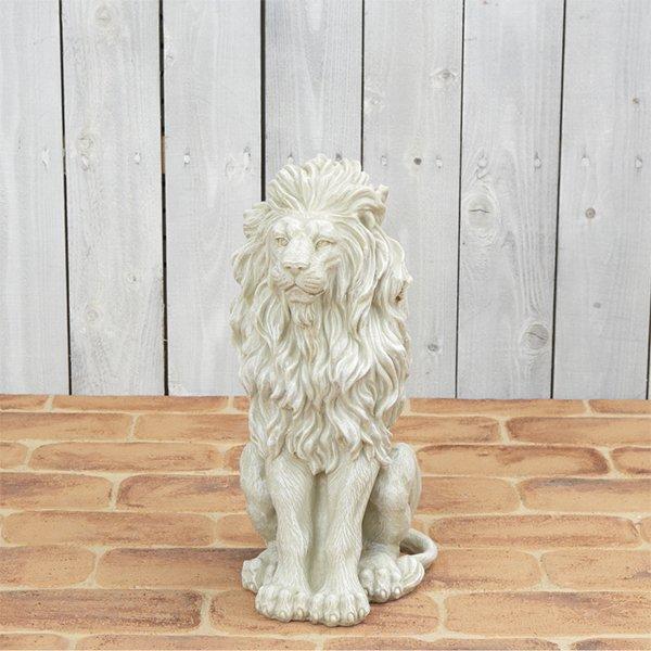 【在庫有】ライオンのオブジェ(17×22×...