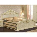 <B>【LEONARD】</B><レオナルド>リュクスシリーズ イタリア製〜ベッド(W183×D216×H133cm)
