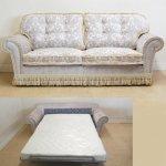 <B>【CAMEL】</B>イタリア製 ソファベッド(W200×D100×H100(座高45)cm)