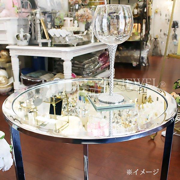 【即納可!】 キラキラ♪ 【フランス-Aulica】 ミラーコーヒーテーブルM