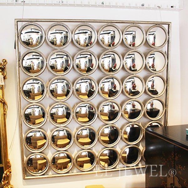 【即納可!】 フランス「asiatides」 デザインミラー・凸ミラー(W104×D3×H104cm)