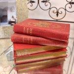 <b>【即納可!】フランス輸入</b>インテリア洋書 アンティークブック 4冊セット (A)