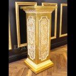 <b></b>アンティーク調コラム ゴールド(H79.5cm)