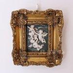 <b>【限定品!1点もの】</b>フランス・アンティーク 天使のレリーフ「スリーエンジェル」(W18.5×H20.5cm)